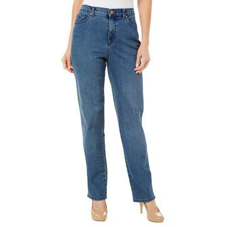 Gloria Vanderbilt Womens Amanda Embellished Jeans