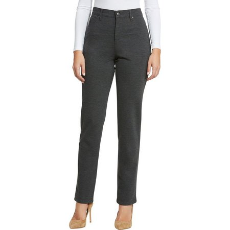 Gloria Vanderbilt Womens Amanda Deco Stitch Pants