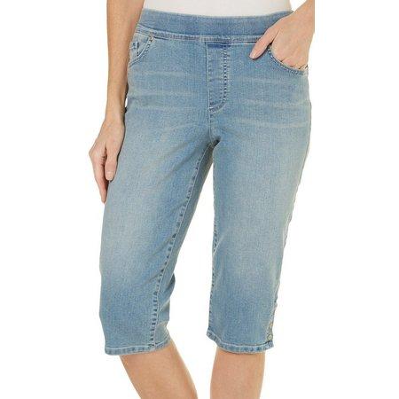 Gloria Vanderbilt Womens Avery Skimmer Capri Jeans