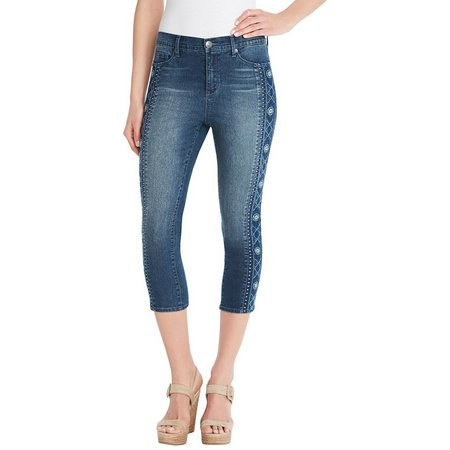 Gloria Vanderbilt Womens Jordyn Capri Jeans