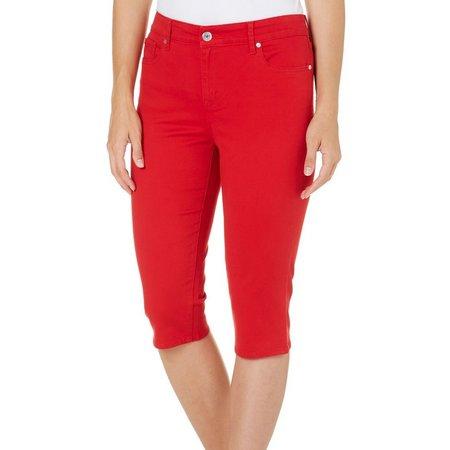 New! Gloria Vanderbilt Womens Jordyn Capri Pants