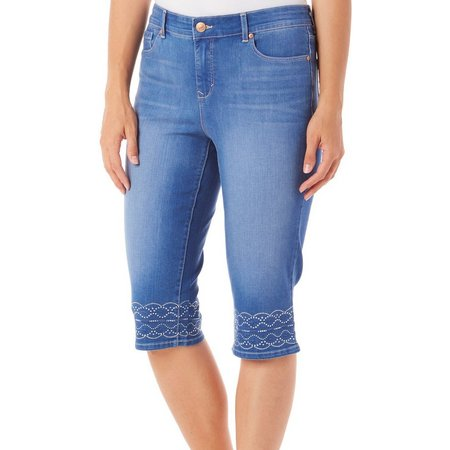 Gloria Vanderbilt Womens Jordyn Skimmer Jeans