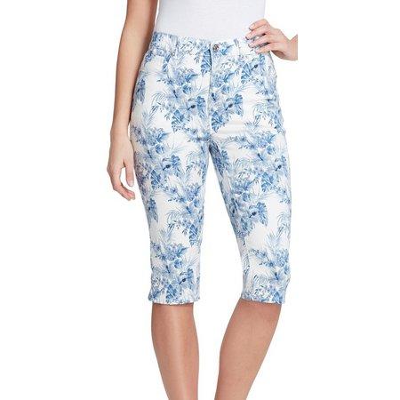 Gloria Vanderbilt Womens Amanda Flower Jeans