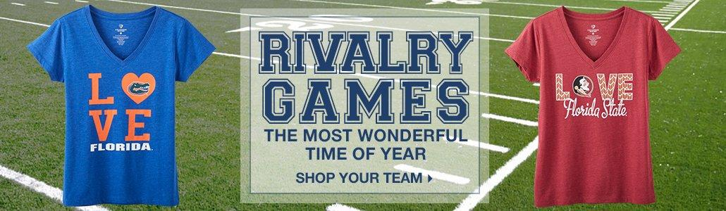Rivalry Games | The most wonderful time of the year | Shop Your Team