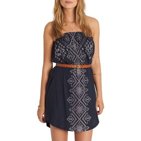 Billabong Juniors Here It Is Strapless Sundress