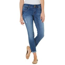 Royalty by YMI Womens Premium Crop Ankle Jeans