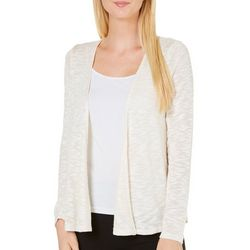 LDLA Womens Open Front Lace Back Sweater Cardigan