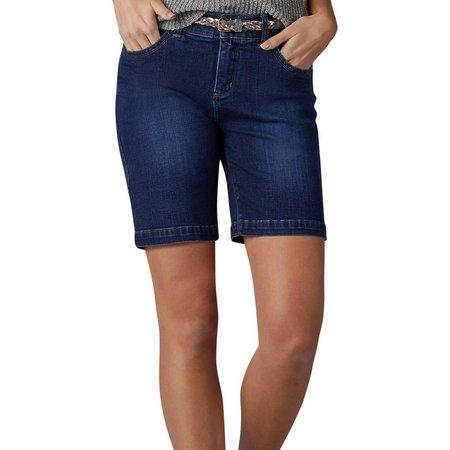 Lee Womens Bradbury Belted Walking Shorts