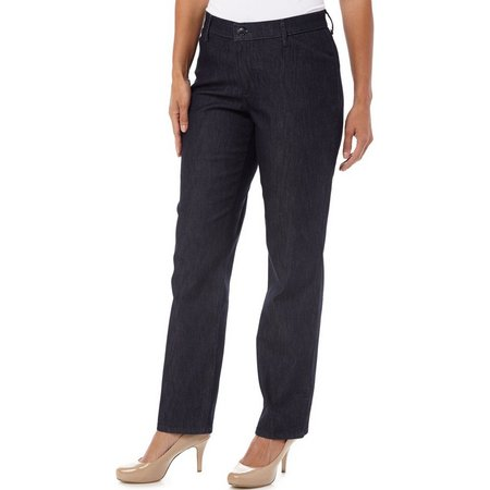 Lee Womens Relaxed Fit Plain Front Pants