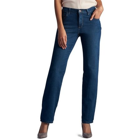 Lee Womens Relaxed Fit Straight Leg Jeans