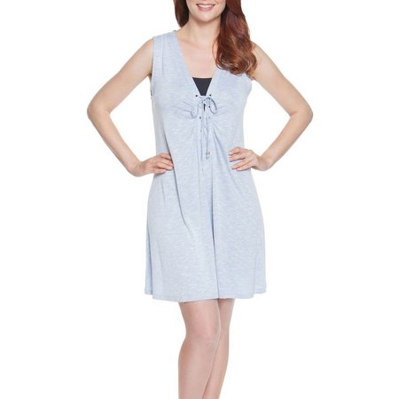 Wearabouts Womens Calling Cabana Tank Cover-Up