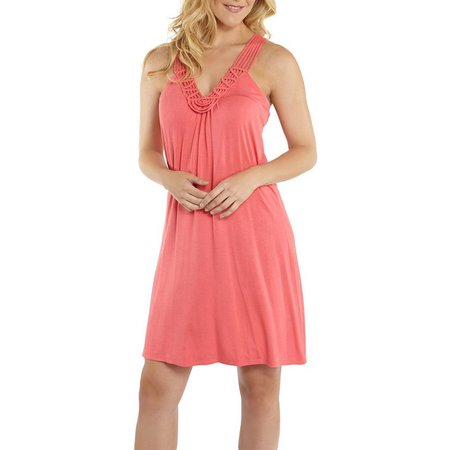 Wearabouts Womens Knit Macrame Dress Cover-up
