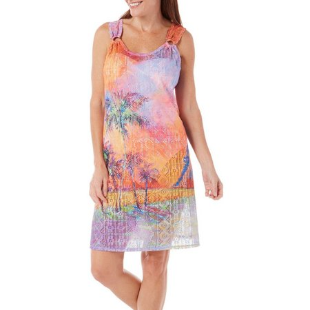 Leoma Lovegrove Womens Parade of Palms Cover-Up