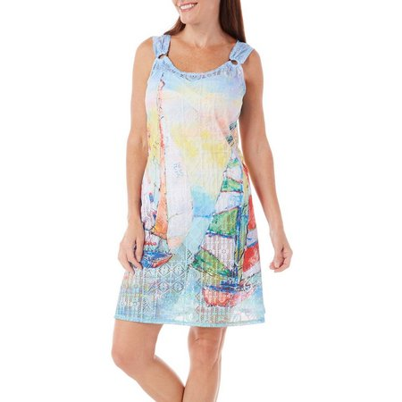 Leoma Lovegrove Womens Making Waves tank Cover-Up