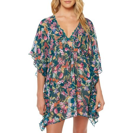 Jessica Simpson Womens Eden Rayon Cover-Up Dress