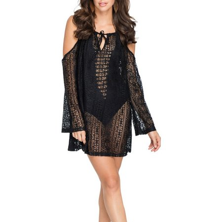Hawaiian Tropic Off The Shoulder Tunic Cover-up