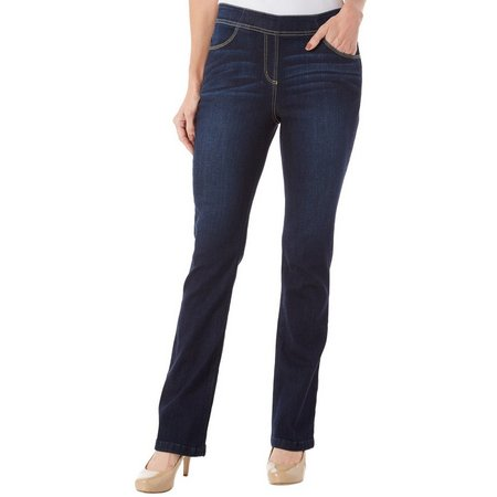 Dept 222 Womens Catch My Drift Dark Bootcut