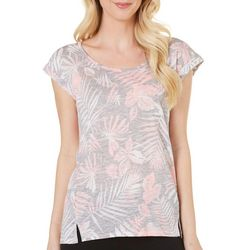 New! Dept 222 Womens Caribbean Dreams Palm Tree