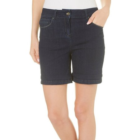 Dept 222 Womens Caribbean Dreams Denim Shorts