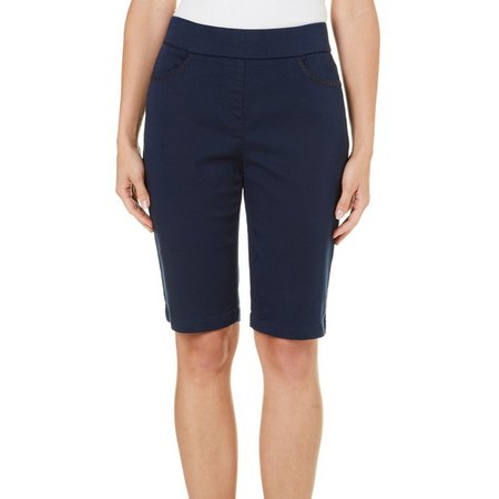 New! Dept 222 Womens Caribbean Dreams Bermuda Shorts