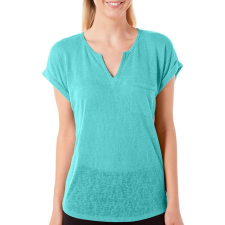 Dept 222 Womens Cabana Nights Slub Knit Top