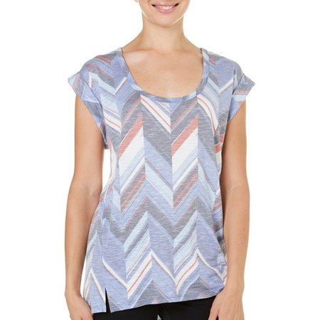 Dept 222 Womens Chevron Print Top