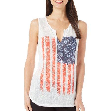 Dept 222 Womens Fade to Blue America Flag