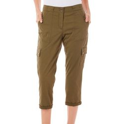 Dept 222 Womens Dolce Vita Twill Ankle Pants