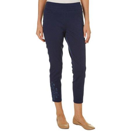 Dept 222 Womens Super Stretch Crop Pants