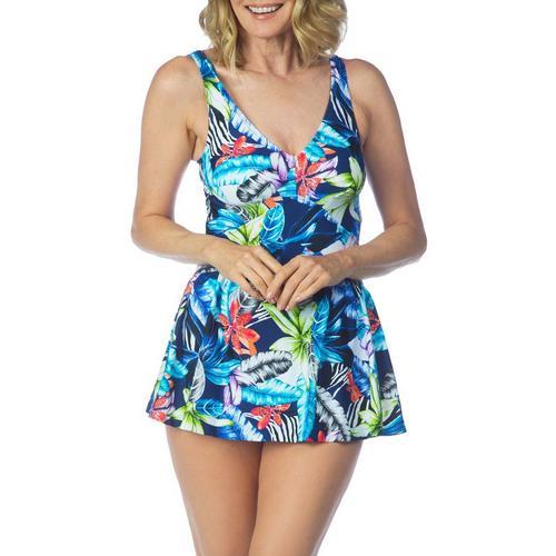 Maxine under the jungle swim dress