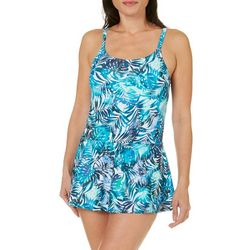 St. Tropez Womens Tropical Siesta Skirt Swimdress