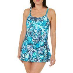 St. Tropez Womens Tropical Siesta Skirt Swimdress