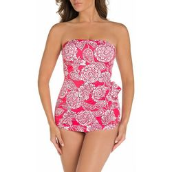 Paradise Bay Womens Lady Lace Sarong Swimsuit