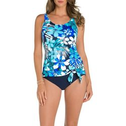 New! Paradise Bay Womens Mesh Well One Piece