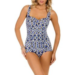 New! Paradise Bay Womens Jewels Insert Swimsuit