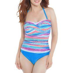 Beach Diva Womens Ethereal Illusion Swimsuit