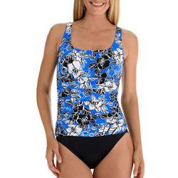 Trimshaper Womens Rosettes Debbie Swimsuit