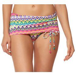 Bleu Rod Beattie Womens Living Color Swim Skirt