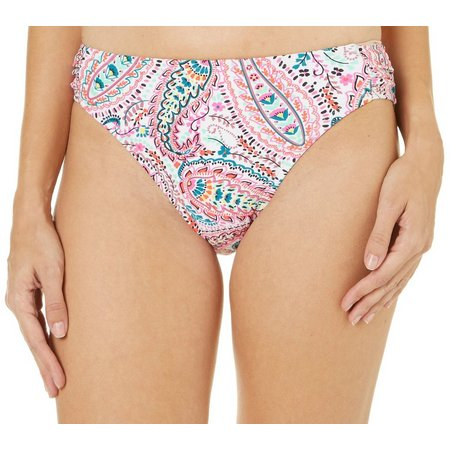 Aqua Couture Womens Epic Romance Hipster Swim Bottoms