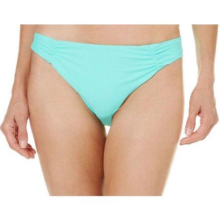 Aqua Couture Womens Paisley High Waist Swim Bottoms