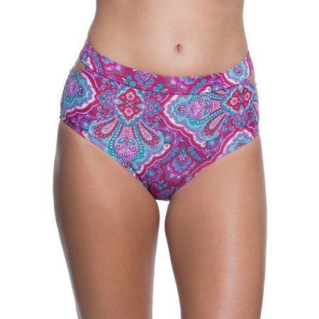 Aqua Couture Womens Arabian Nights Swim Bottoms
