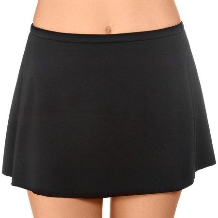 Caribbean Joe Womens Shaping Swim Skirt