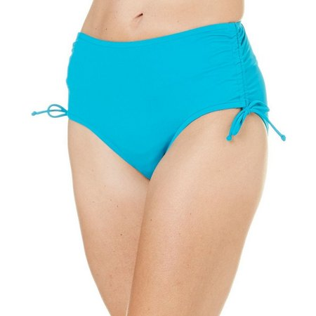 Caribbean Joe Womens Adjustable Swim Bottoms