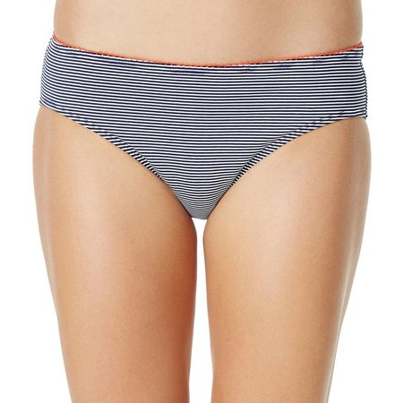 Anne Cole Womens Baby Stripe Bikini Swim Bottoms