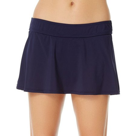 Anne Cole Womens Live In Color Swim Skirt