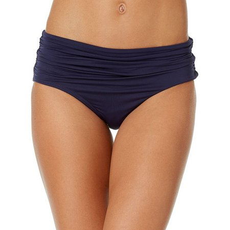 Anne Cole Womens Live In Color Ruched Swim