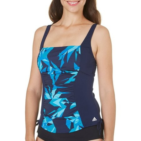 Adidas Womens Aqua Sport Princess Seam Tankini Top