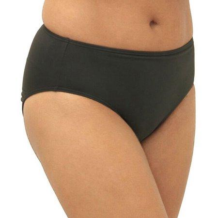 A Shore Fit Womens Tummy Control Swim Bottoms