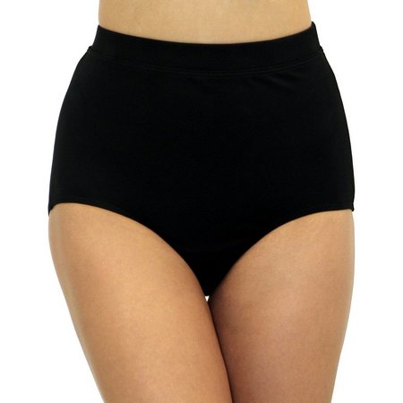 A Shore Fit Womens Control Fabric Swim Bottoms