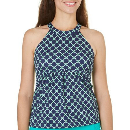 A Shore Fit Womens Two Tone High Neck